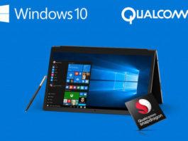 Snapdragon 820 Windows 10