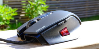 Corsair M65 test cs:go