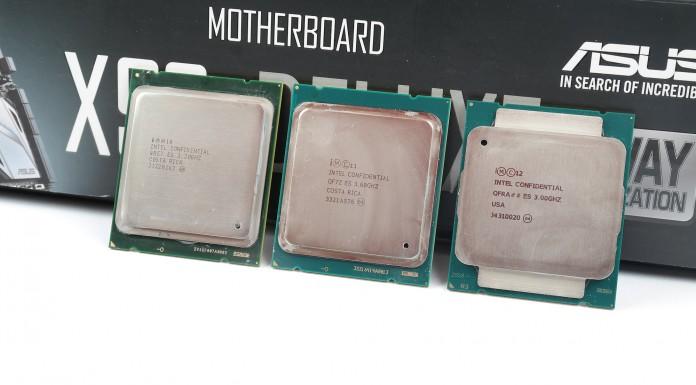 Intel Haswell-E trio