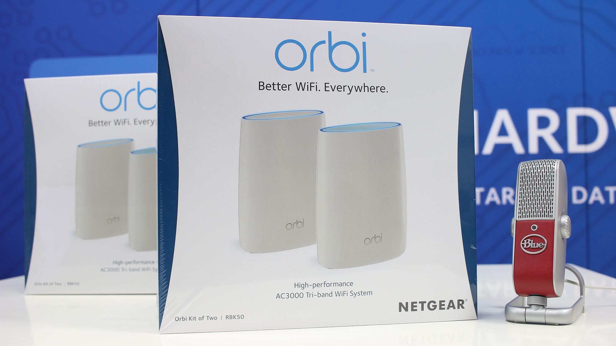 Liveinstallation av Netgear Orbi