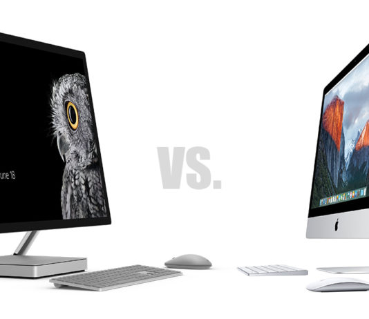 Surface Studio eller Imac