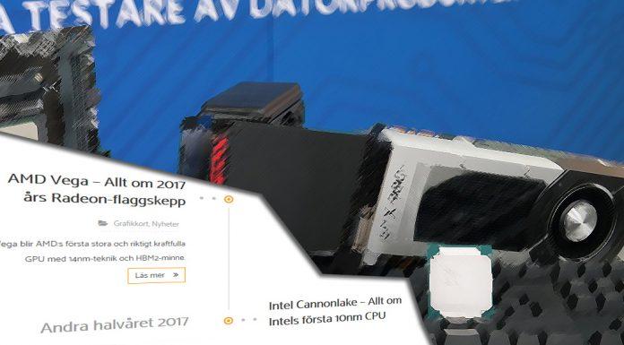 Grafikkort GPU och CPU skiss