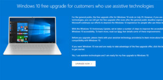 Windows 10 gratis uppdatering