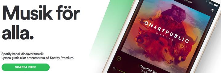 Spotify Free Spotifys Gratiskonton Sags Hotas Av Apples Musiksatsning