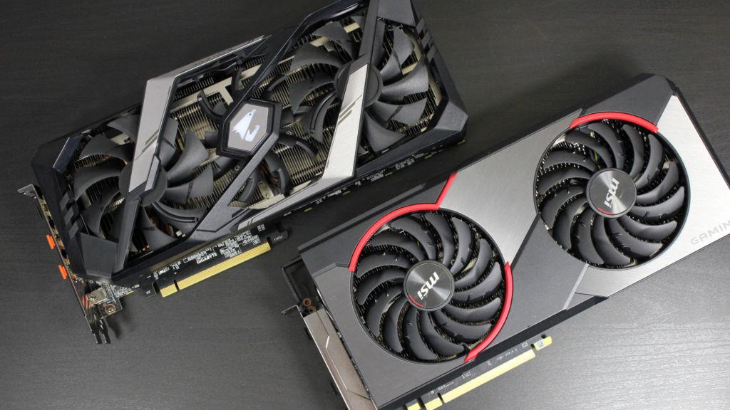 Test Geforce RTX 2060 Super vs Radeon RX 5700 XT
