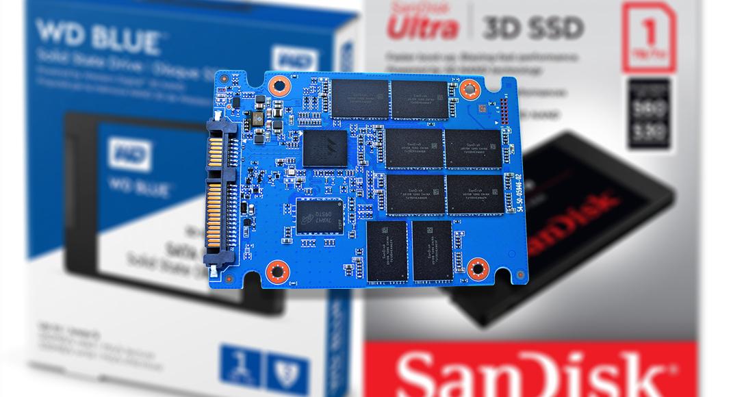 WD blue 3D Sandisk 3D Ultra