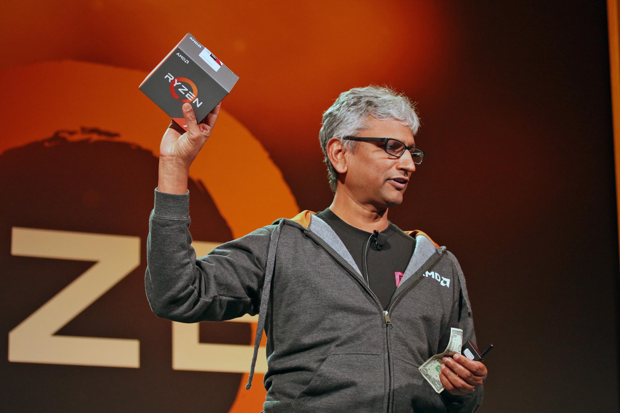 AMD Raja Koduri Ryzen