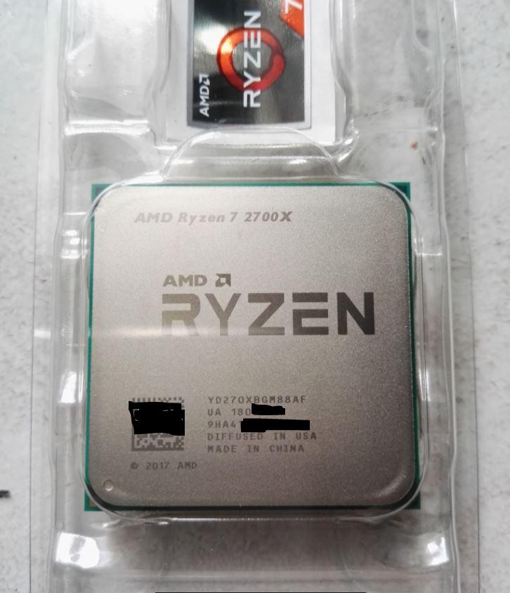 Ryzen 7 2700X-användare visar testsiffror och överklockningsresultat