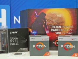 AMD Ryzen 5 2400G Ryzen 3 2300X