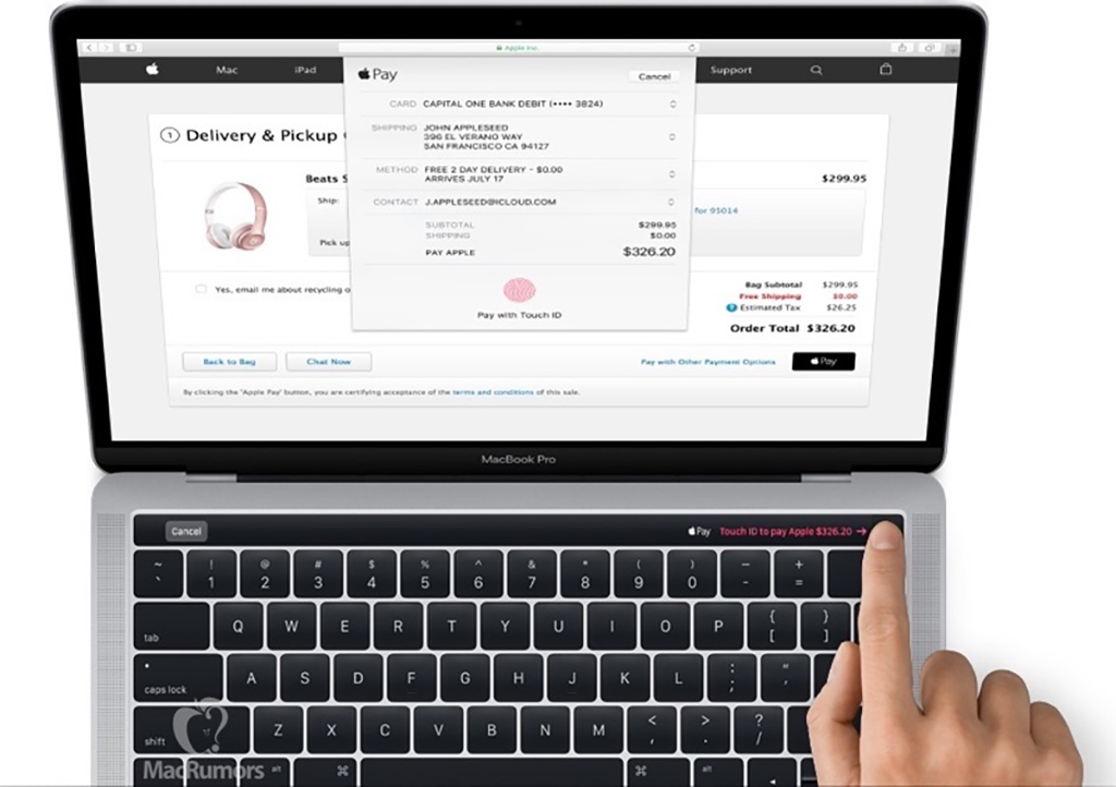 applemacbookprotouchid