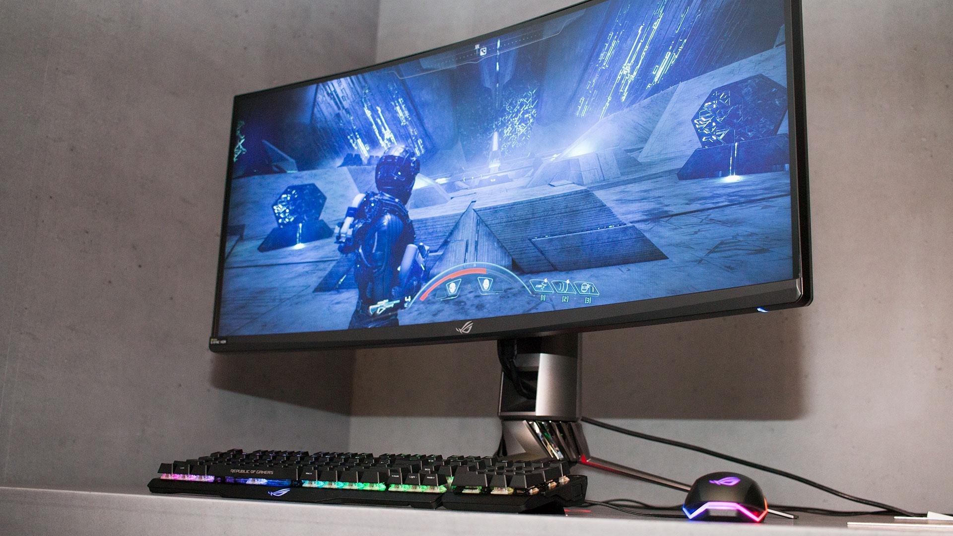 Ultrawide-gamerns dröm - Vi spanar in Asus ROG Swift PG35VQ