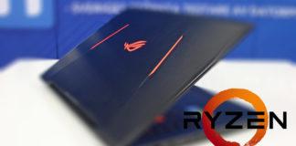 Asus ROG Ryzen laptop