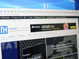 Google Chrome flikar