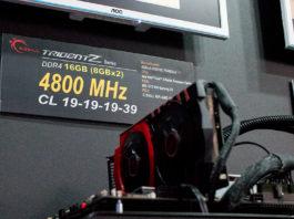 DDR4-frekvenser 4 800 MHZ