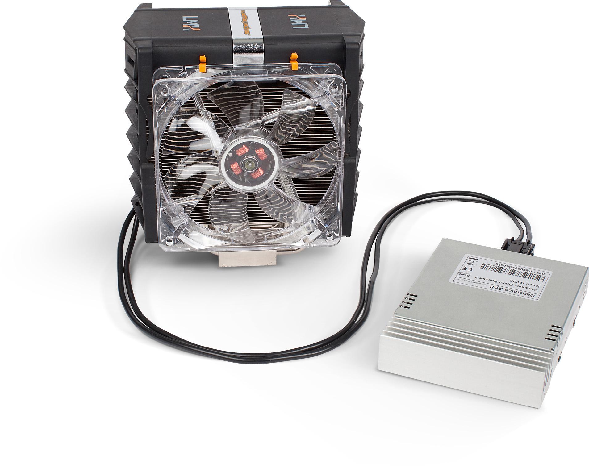 Danamics LMX Superleggera plus PowerBooster connected frontview 50