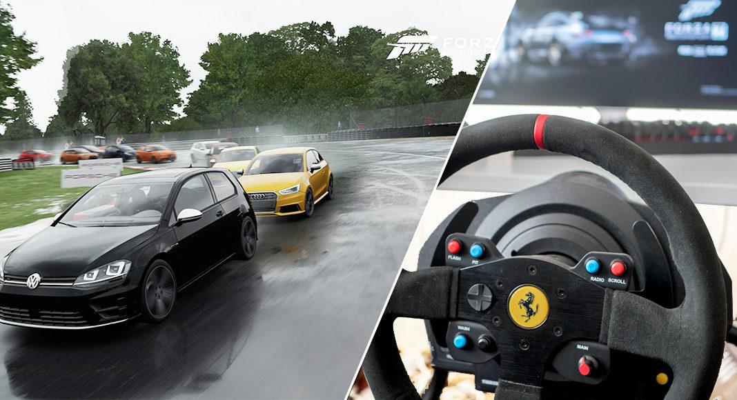 Forza 7 racing ratt thrustmaster