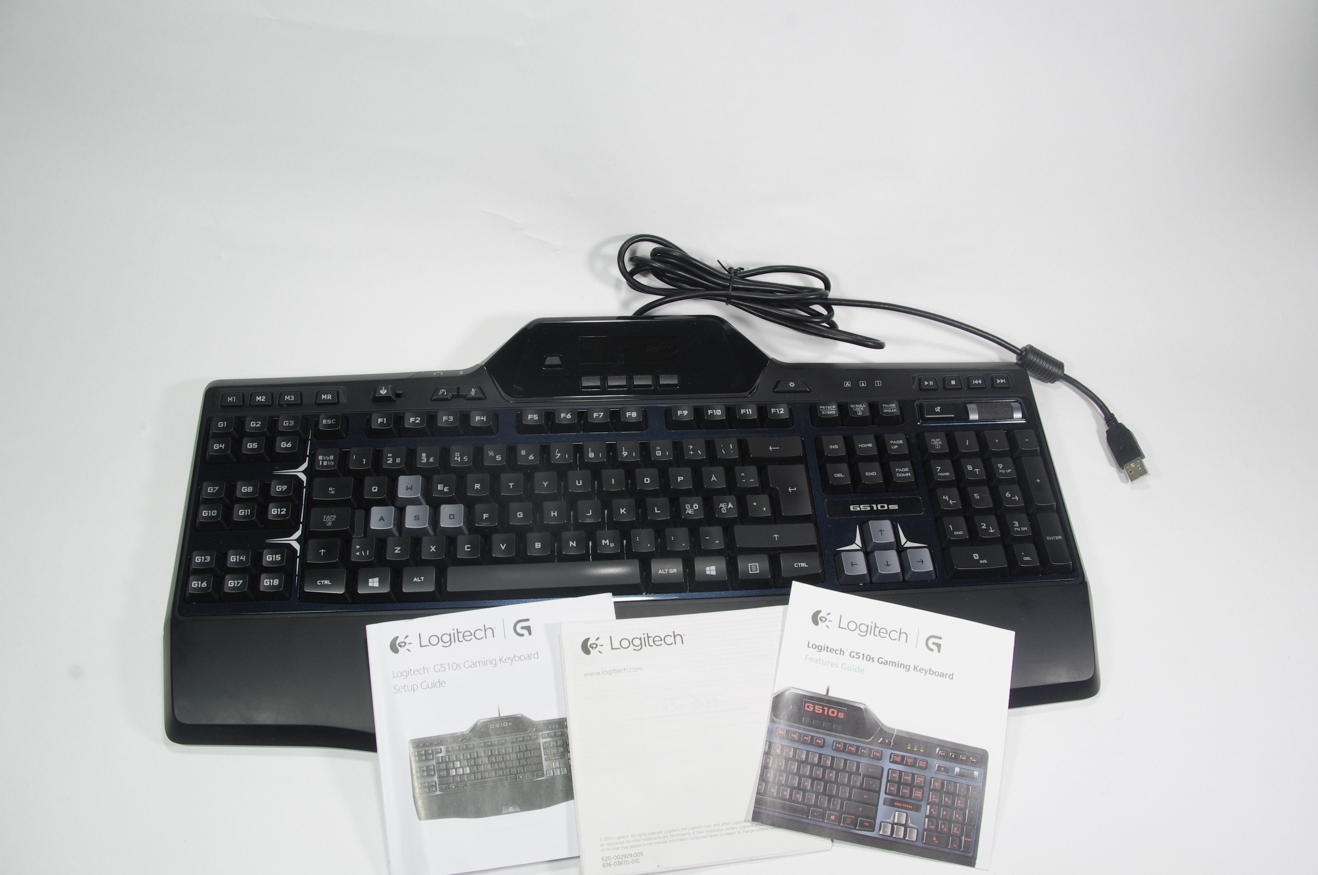 Logitech G510S. Logitech har länge erbjudit tangentbordsmodeller med  LCD-skärmar på tangentbordet ... fc0cc73560f8d