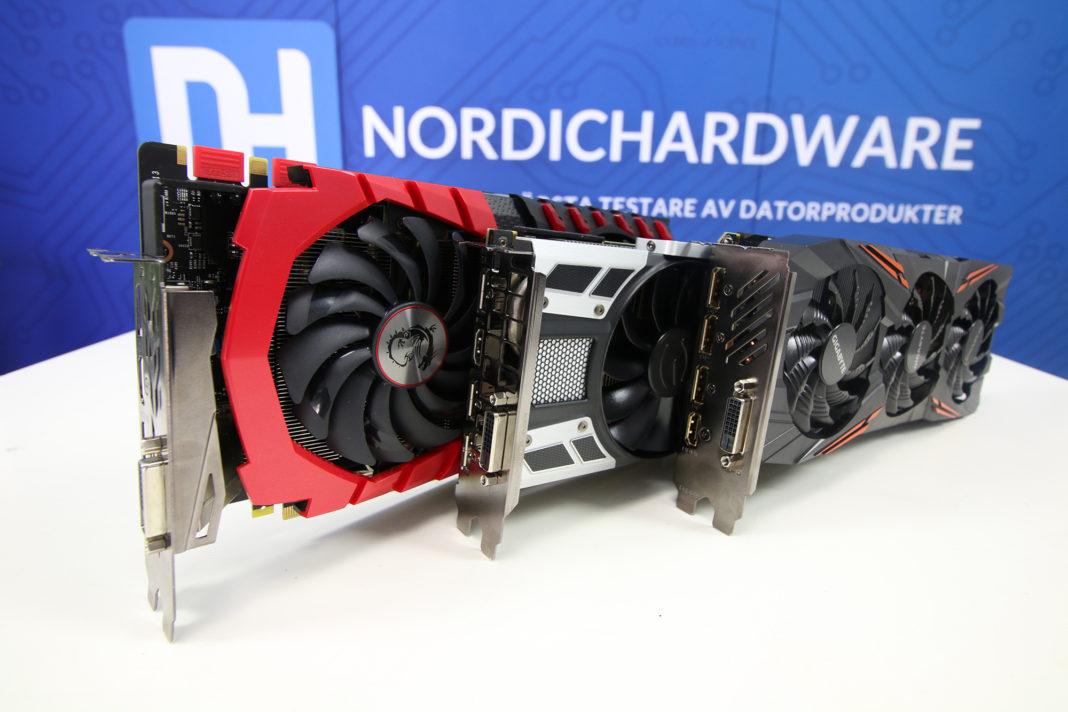 Nvidia Geforce GTX 1080 x 3