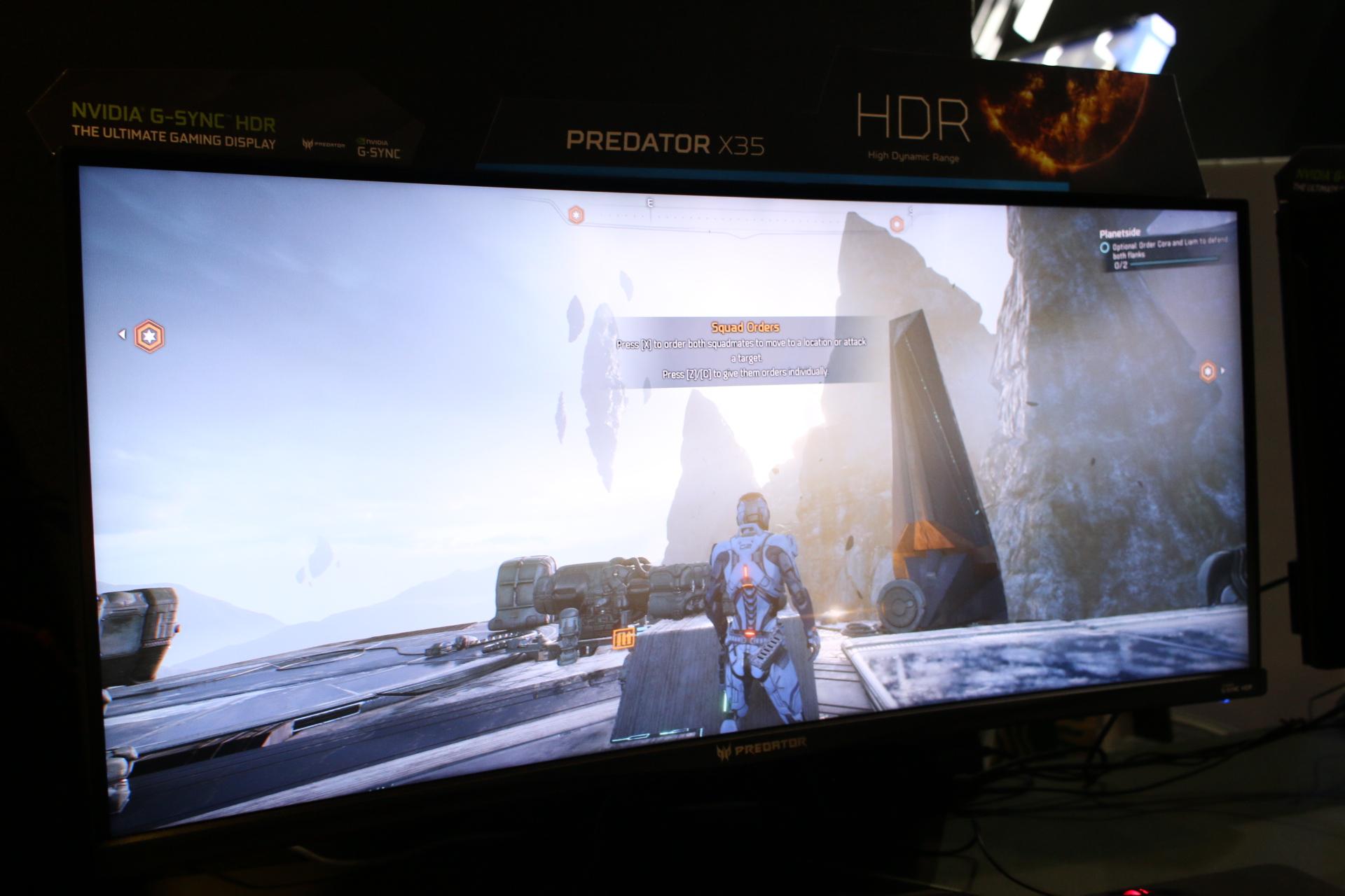 Vi testar Acer Predator X35 - Hur är det att spela på en 35