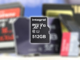 Integral 512GB microsd