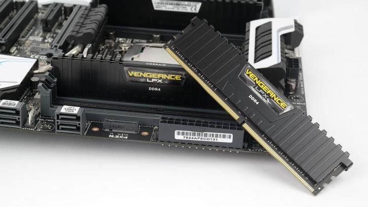 Intel X99 Corsair DDR4