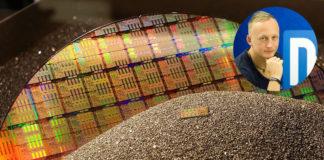 Intel X299 CPU wafer