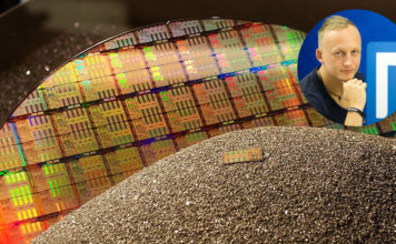 Intel X299 CPU wafer