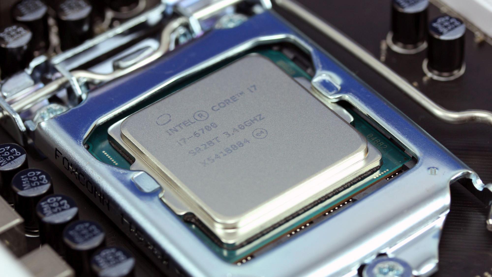 Intel Core i7-6700K med integrerad grafikdel