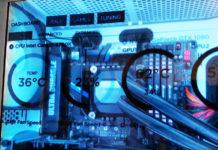 LCD-sidopanel