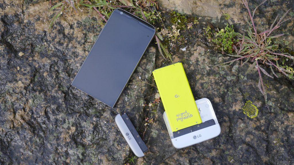 LG G5 Recension modul 9