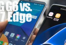 LG G6 vs. Samsung Galaxy S7 Edge
