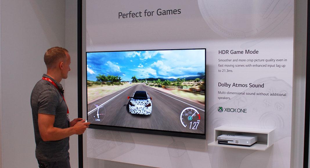 LG OLED TV inout lag