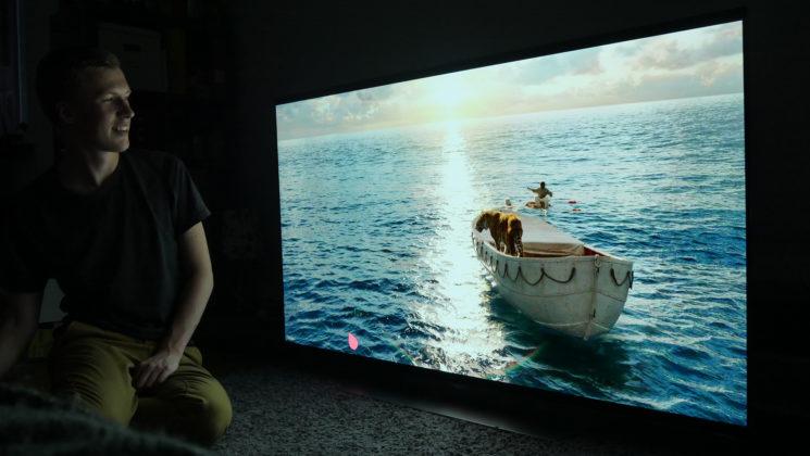 Lie of Pi - Vanlig 1080p Blu-ray på LG 4K OLED