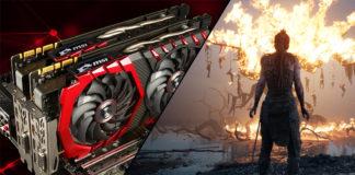 MSI Geforce GTX 1070 Ti Gaming X Hellblade