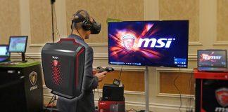 MSI VR Backpack ryggsäcksdator