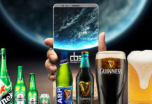 Galaxy Note 9 alkohol