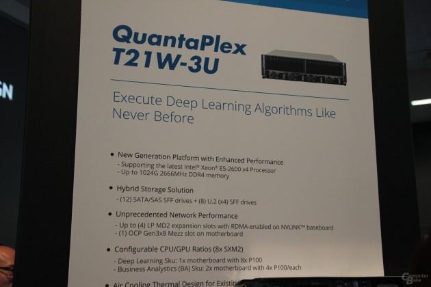 Nvidia GDX-1 Quanta Tesla P100 board