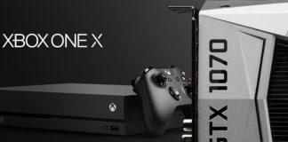 Xbox One X Geforce GTX 1070