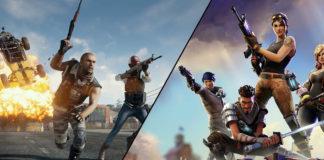 PUBG fortnite Epic Games
