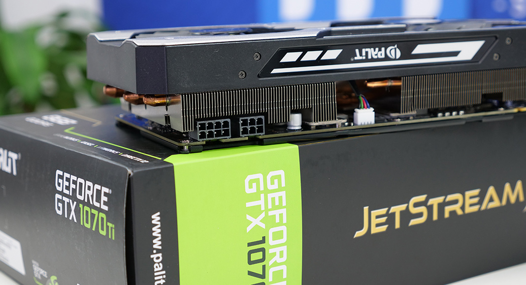 Palit Geforce GTX 1070 Ti Jetstream