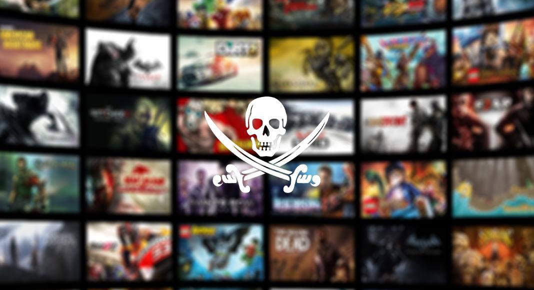 Piratkopiering spel