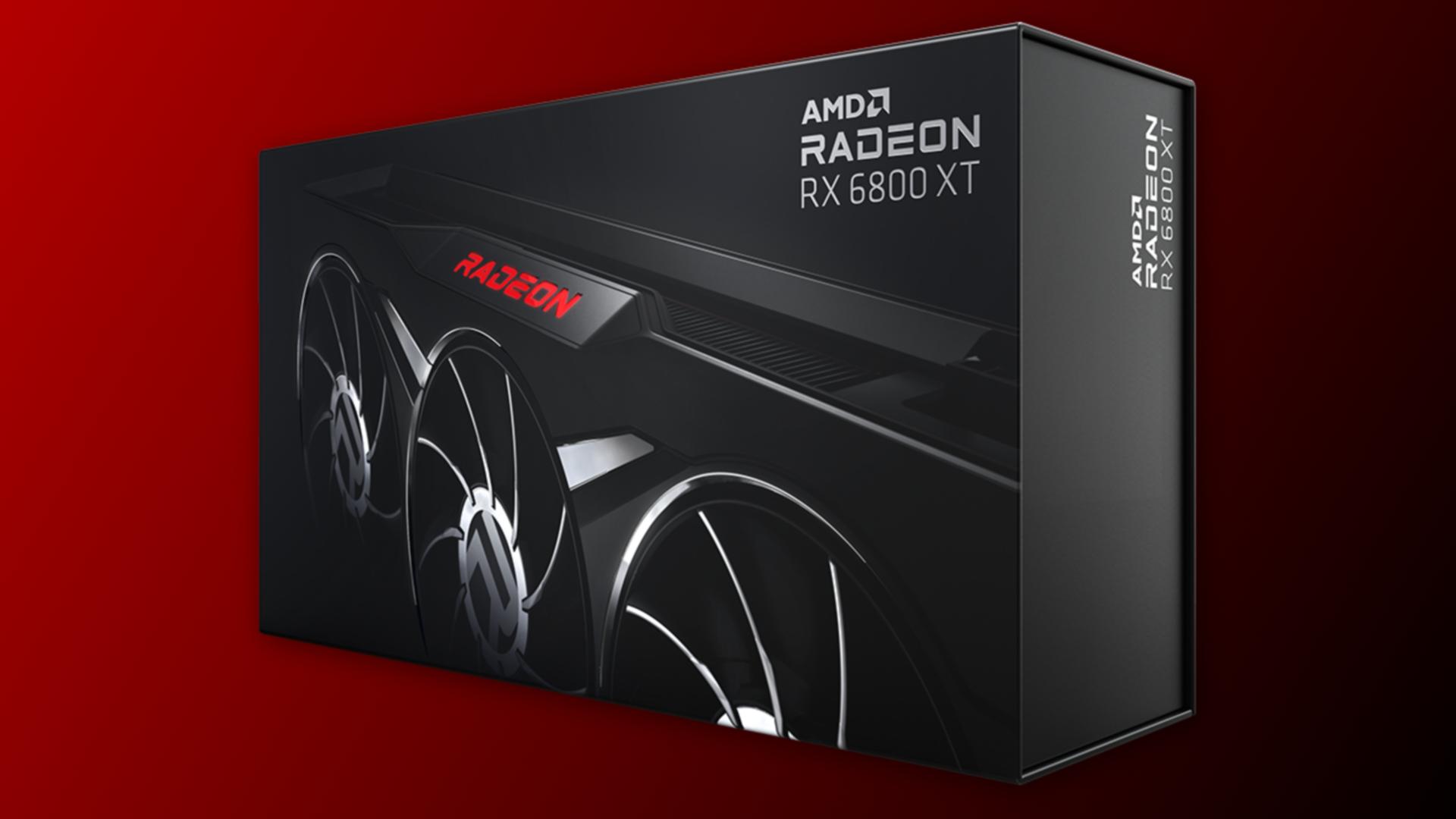 AMD lanserar begränsad svart upplaga av RX 6800 XT