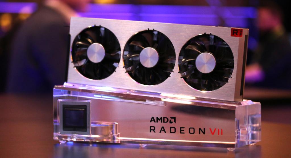AMD Radeon VII Radeon Image Sharpening