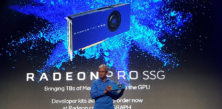 Radeon Pro SSG 8K video