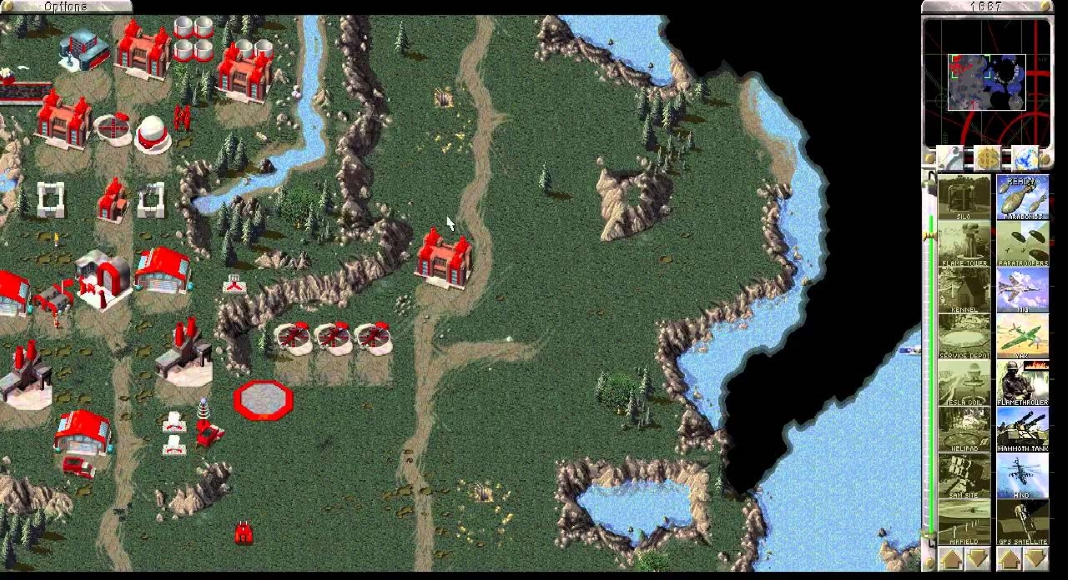 C&C: Tiberian Dawn Red Alert