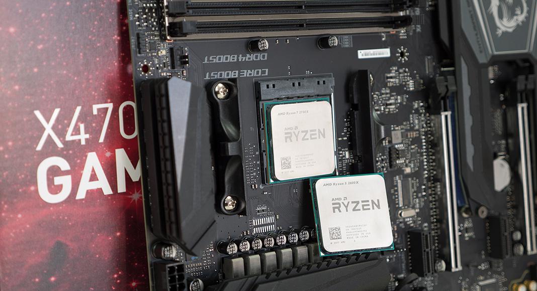 AMD Ryzen 7 2700X Ryzen 5 2600X