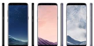 Galaxy S8 Pris färgkombinationer