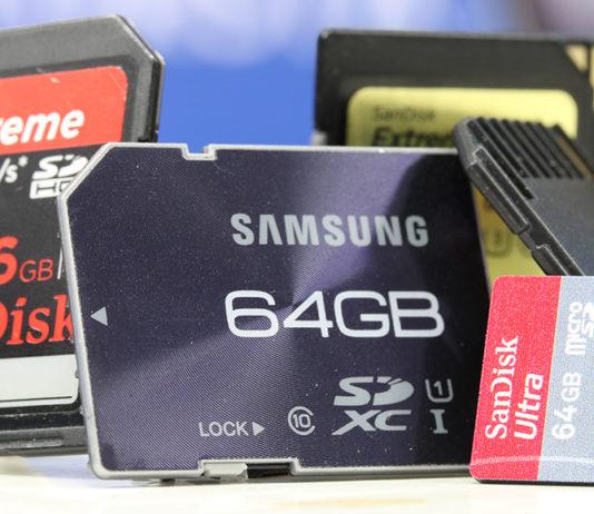 Minneskort SD-kort, UHS-II, MicroSD, A-klass