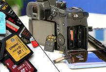 SD-kort test kamera smartphone