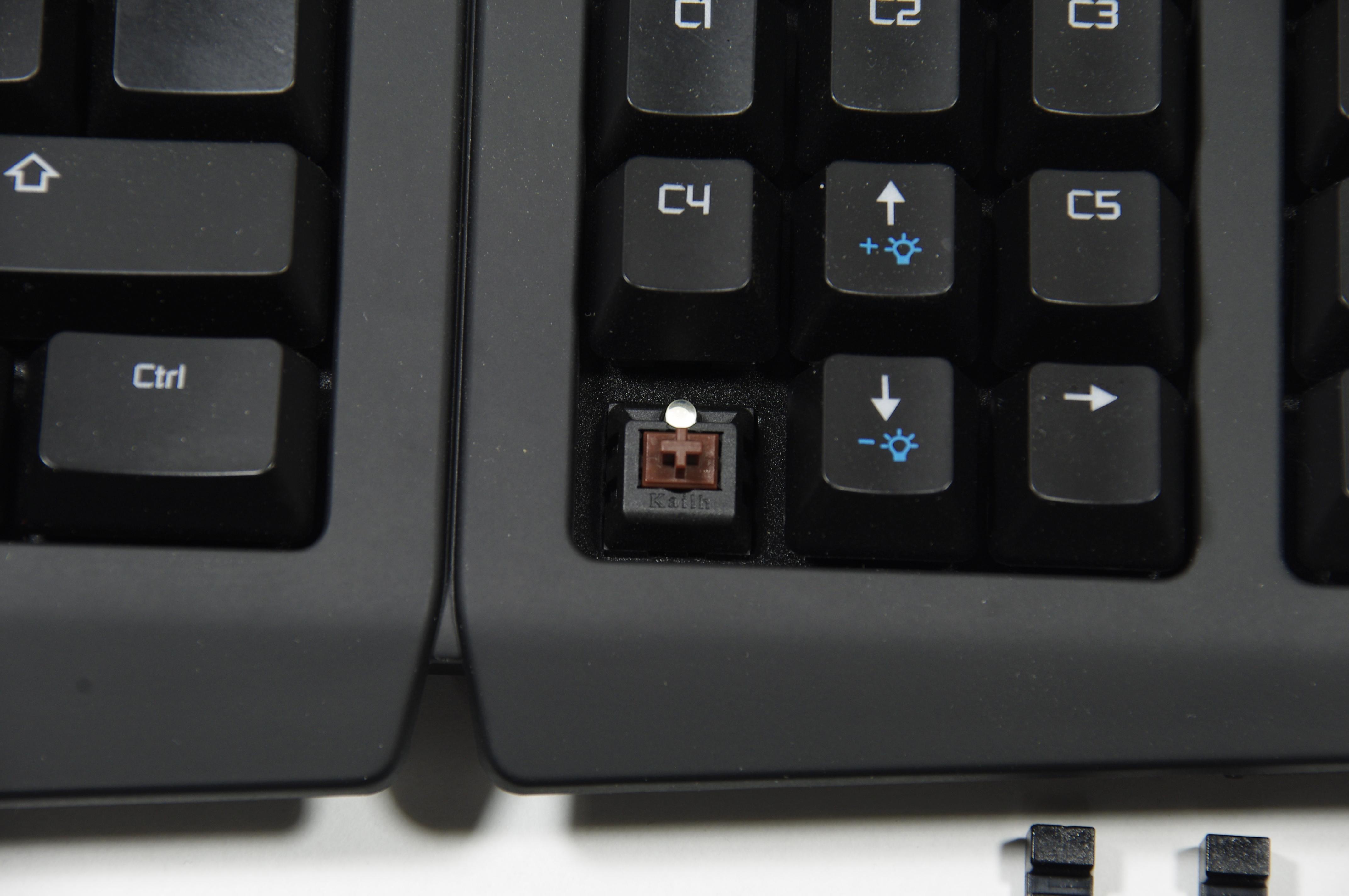 De som inte gillar Kalihs bruna brytare och kanske hellre förederar röda  eller blåa brytare får tyvärr välja ett annat tangentbord c71f1c4fd1724